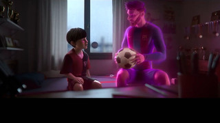 The Leo Messi Story, in an animated short