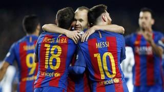 FC Barcelona 4 - Espanyol 1 (3 minutos)