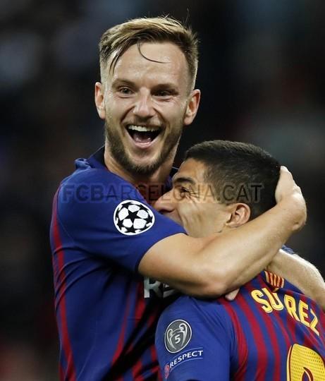 صور مباراة : توتنهام - برشلونة 2-4 ( 03-10-2018 )  100686457