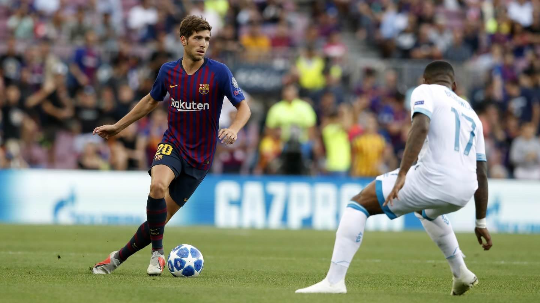 صور مباراة : برشلونة - PSV إندهوفن 4-0 ( 18-09-2018 )  98884218