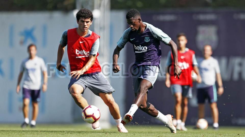 تدريبات مكثفة في برشلونة استعداداً لمباراة الأحد ضد جيرونا 21-09-2018 99246970