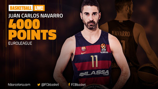 The legend that is Juan Carlos Navarro reaches 4000 Euroleague points