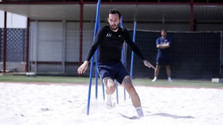 Aleix Vidal continues to battle back to fitness