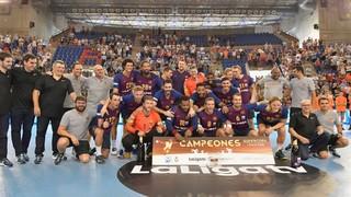 BM Logroño La Rioja - Barça Lassa: Asobal Super Cup Champions! (27-35)