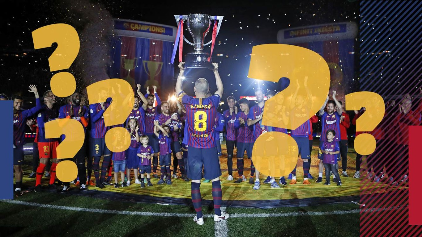 Test yourself with this quiz on the League season, in which Barça have been proclaimed champion of the domestic competition for the 25th time