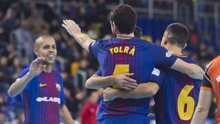 FC Barcelona Lassa - Aspil Vidal Ribera Navarra: An intense victory (6-1)