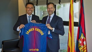 James Costos, FC Barcelona's new strategic advisor in America