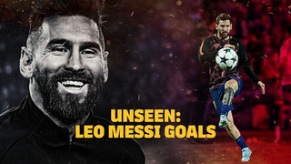 Leo Messi's goals as never seen before