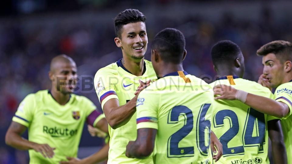 صور مباراة : برشلونة - روما 4-2 ( 01-08-2018 )  95181436