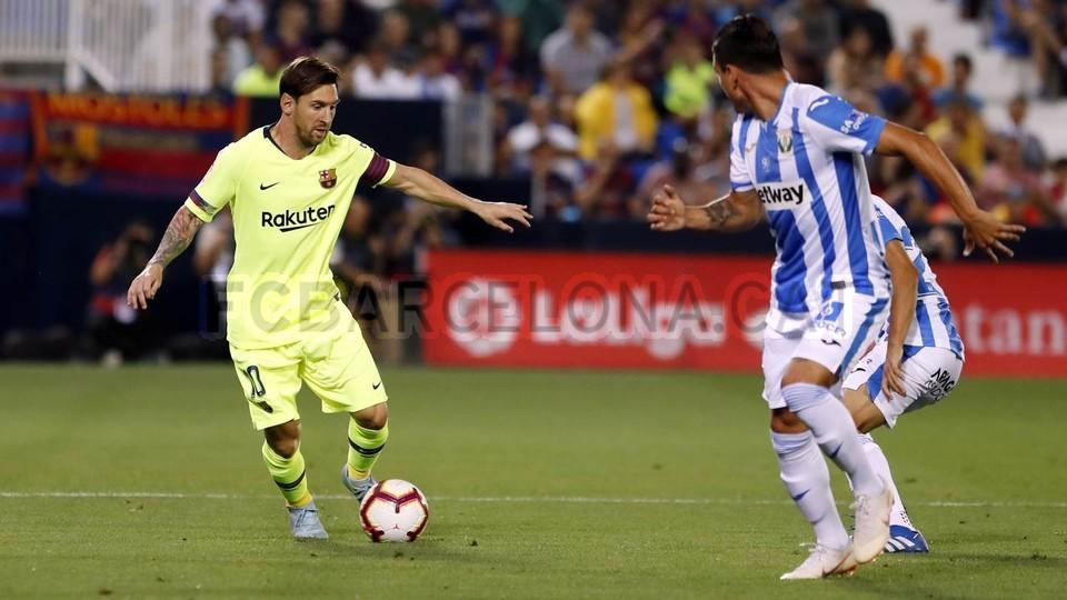صور مباراة : ليغانيس - برشلونة 2-1 ( 26-09-2018 ) 99772797