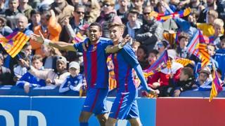 Amazing goal from Jordi Mboula against Salzburg