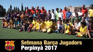 No te pierdas el vídeo de las 3 jornadas que la Agrupación Barça Jugadores organizó en la ciudad del sur de Francia