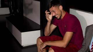 The video that surprised Lenglet at the FC Barcelona Museum