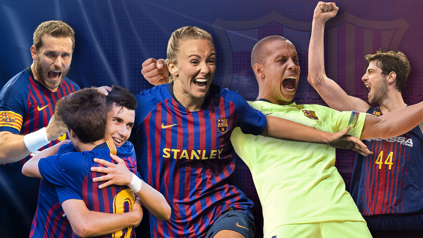 Victories across the board for Barça's teams in Women's Football, Futsal, Basketball, Handball, Roller Hockey, as well as Barça B, and Under-19