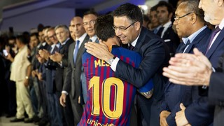 FC Barcelona president discusses various club affairs on local radio, including the FIFA awards, the possible game in the US and the chance to raise the wage bill