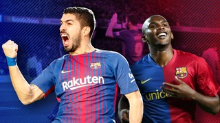 Luis Suárez overtakes Samuel Eto'o as Barça's seventh highest goalscorer