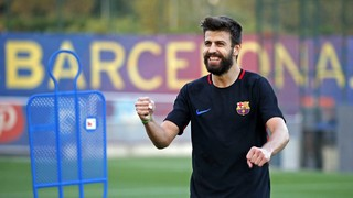 Last training session before Málaga match