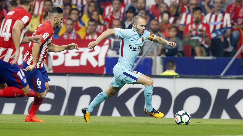 [Ảnh] Atletico - Barça (1-1)