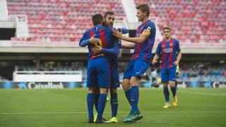 FC Barcelona B 12 - Eldense 0: A gigantic win!