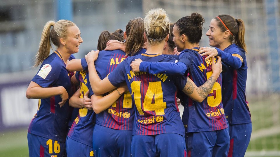 FC Barcelona Women Levante UD Big Win To Top Table At Half Way - Barcelona fc table