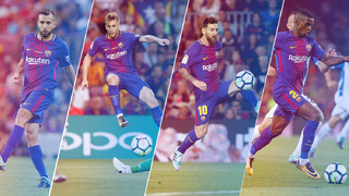 Throught the last two months Barça has left us with lots of moments that we would like to review with you, in order to enjoy the technical quality of our players. Enjoy the best football!