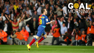 GOAL MORNING!!! Andrés Iniesta!!