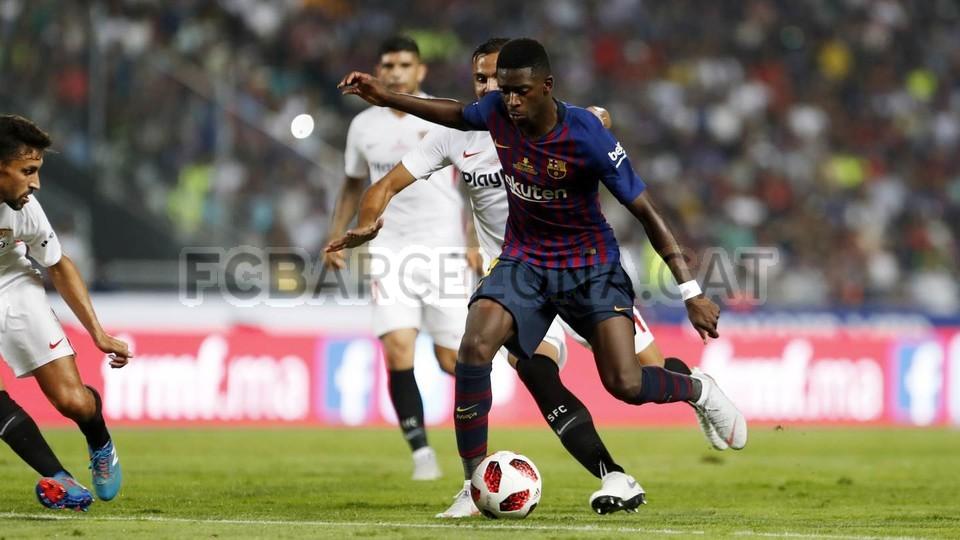 صور مباراة : برشلونة - إشبيلية 2-1 ( 13-08-2018 )  95762558