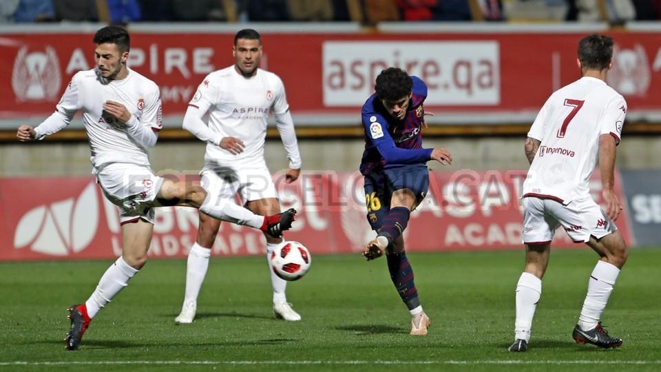 صور مباراة : كولتورال ليونيسا - برشلونة 0-1 ( 31-10-2018 ) كأس ملك إسبانيا 101926782