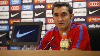 The Barça coach warns that 'Betis will not sit back and they will be courageous'