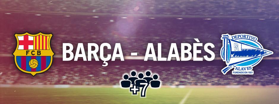 Entrades oficials per a grups Barça VS Alabès