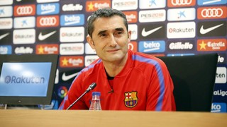 'It's a derby and they are having an excellent season,' says the Barça coach