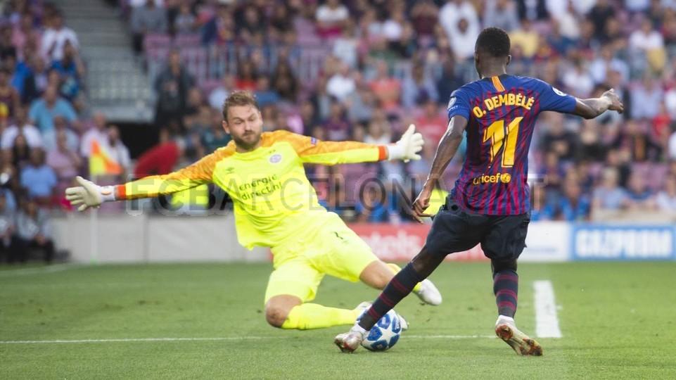 صور مباراة : برشلونة - PSV إندهوفن 4-0 ( 18-09-2018 )  98884224