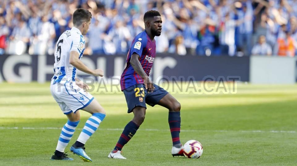 صور مباراة : ريال سوسيداد - برشلونة 1-2 ( 15-09-2018 ) 98507392