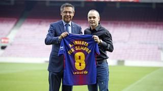"""Andrés Iniesta: """"Sempre he tingut molt clar el meu amor pel Barça""""."""