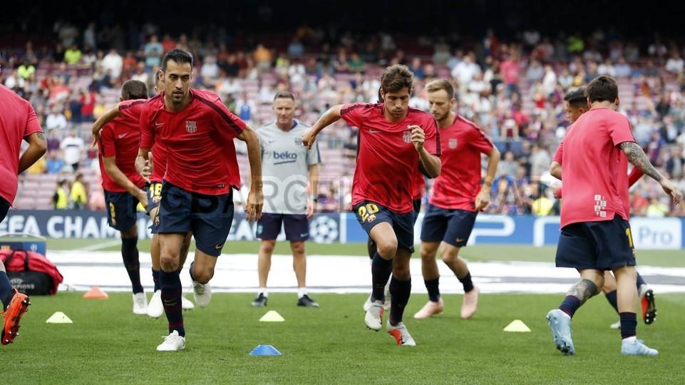 صور مباراة : برشلونة - PSV إندهوفن 4-0 ( 18-09-2018 )  98934401