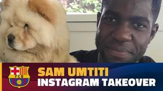 Un dia amb Umtiti, a través d'Instagram