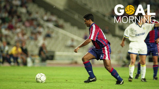 Goal Morning! Let's start the day with Romario da Souza...