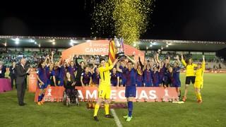 Barça Women – Atlético Madrid: Copa de la Reina Champions! (1-0)