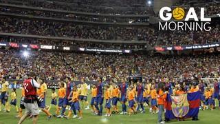 Goal Morning: Rafa Márquez  vs Club América #BarçaUSTour