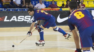 Recam Làser Caldes – FC Barcelona Lassa: A win to stay leaders (0-1)