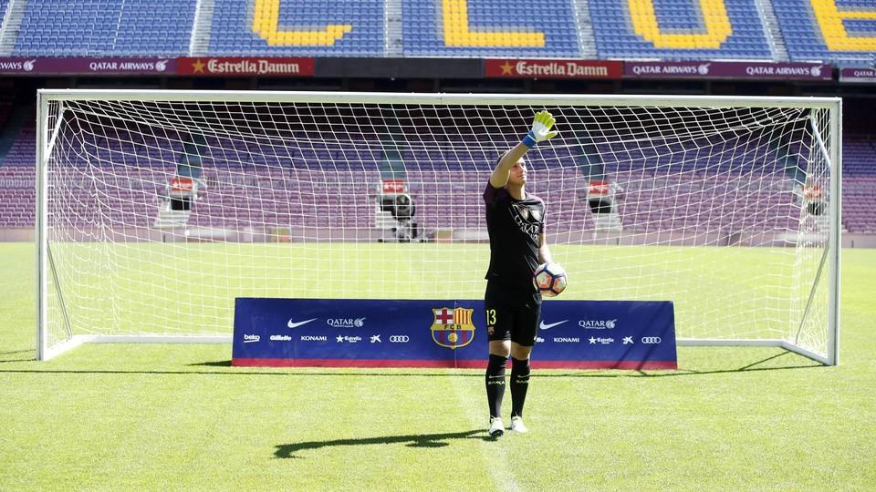 Maillot Extérieur FC Barcelona Cillessen