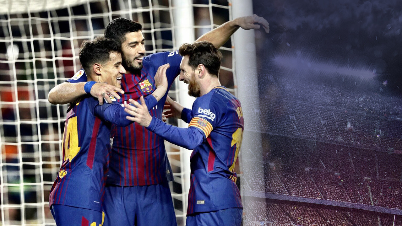 """Barcelona"" 6-1 ""Jirona"" (La Liga)"