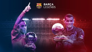 Barça Legends - Manchester United Legends, on Friday 30 June at the Camp Nou