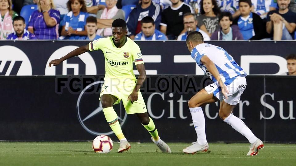 صور مباراة : ليغانيس - برشلونة 2-1 ( 26-09-2018 ) 99772803