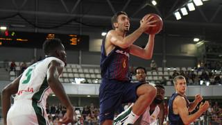 Nanterre 83 - FC Barcelona Lassa 77 (amistós pretemporada)