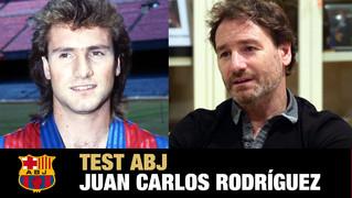 El exjugador azulgrana hace un repaso de su etapa en el FC Barcelona en el último programa de la ABJ para Barça TV, Seguim en Joc