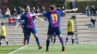 Juvenil A 3 - Lleida 0 (Lliga)