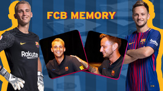 Memory test, Cillessen v Rakitic: Who will be the quickest?