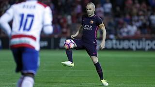 Granada 1 - FC Barcelona 4 (3 minutos)