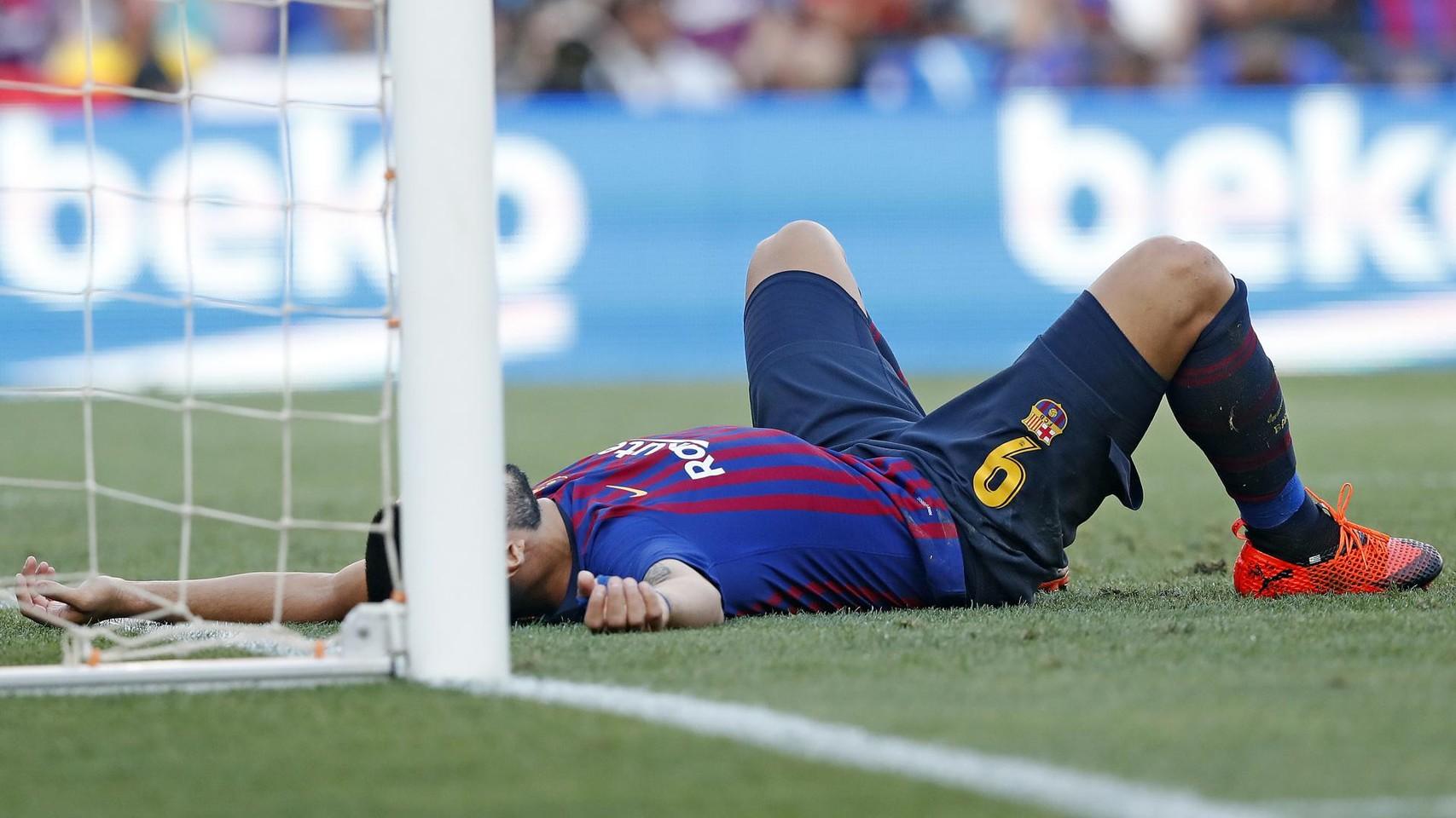 صور مباراة : برشلونة - جيرونا 2-2 ( 23-09-2018 )  100346244